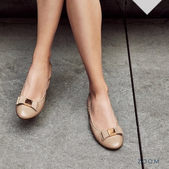 4056b6886 Cole Haan Shoes | Elsie Bow Ballet Flat Womens Nude | Poshmark